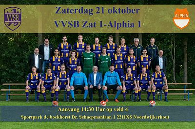 VVSB zat. 1 - Alphia 1