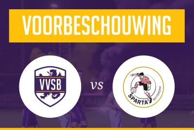 Voorbeschouwing VVSB - Jong Sparta