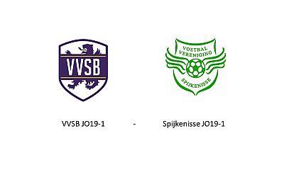 Woensdag 11 april 19.15 uur Beker VVSB JO19-1