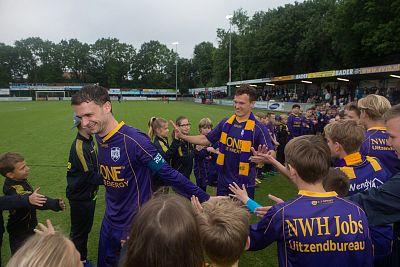 VVSB wint bij afscheid Jozic en Van der Slot