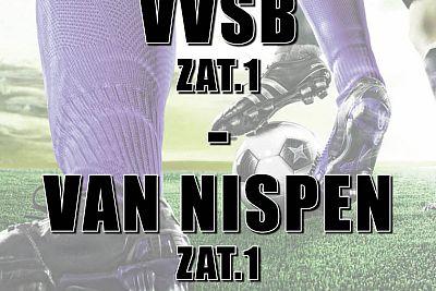 VVSB zat. 1 tegen van Nispen op herhaling