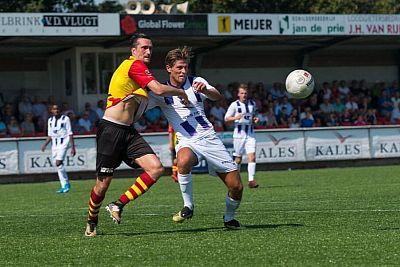 VVSB verliest bij periodekampioen Sparta Nijkerk