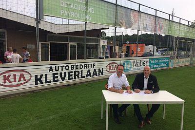 Autobedrijf Kleverlaan is Stersponsor geworden van VVSB!