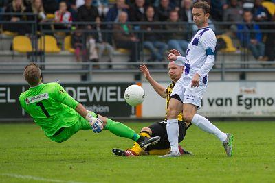 VVSB beleeft fantastisch comeback bij Rijnsburgse Boys