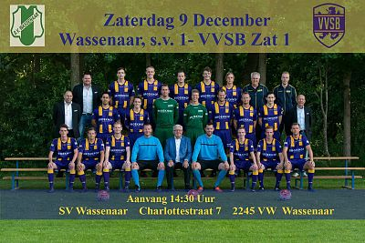 Wassenaar SV 1 - VVSB Zat. 1