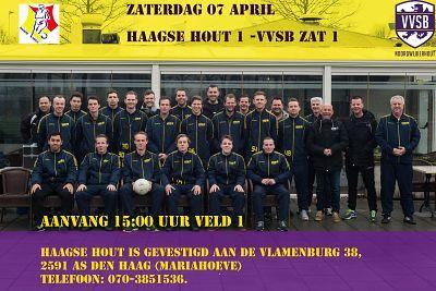 Zaterdag 1 naar Haagse Hout