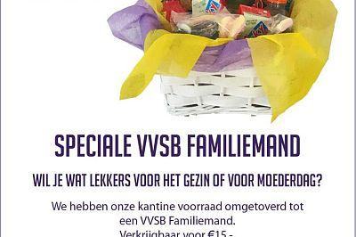Speciale VVSB Familiemand of VVSB Borrelmand