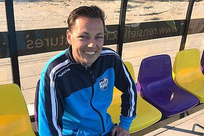 Joeri van Gijlswijk hoofdtrainer van de JO9 selectie