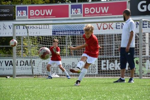 Voetbal- en keepers 2-daagse bij VVSB