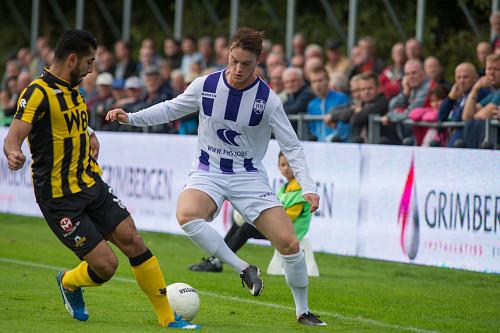 VVSB incasseert grote nederlaag bij Rijnsburgse Boys