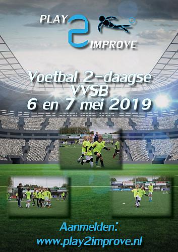 Play2Improve-voetbalkamp deze meivakantie bij VVSB!
