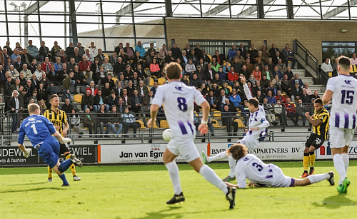 VVSB verliest oefenwedstrijd tegen Rijnsburgse Boys