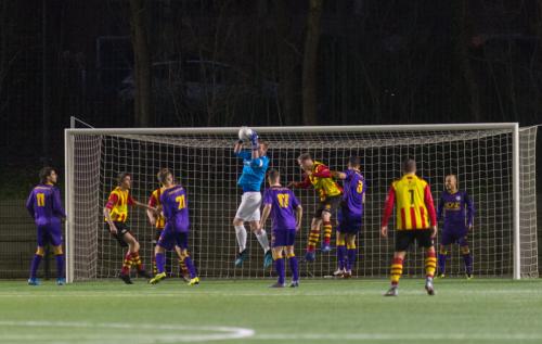 VVSB verliest derby van Ter Leede na dramatische eerste helft