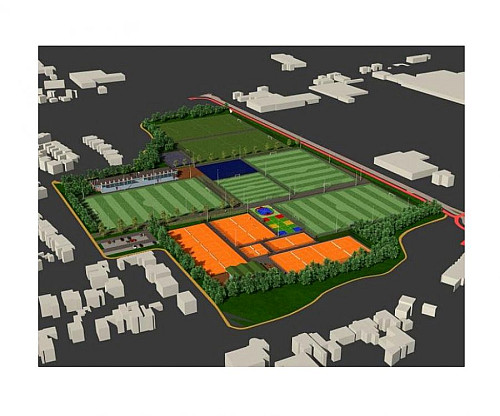 Update bouw sportpark