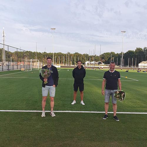 VVSB neemt afscheid van de bevlogen trainers Mart ten Have en Alexander van Vliet