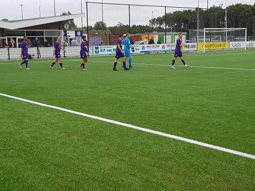 VVSB en Rijnsburgse Boys spelen gelijk in eerste oefenwedstrijd